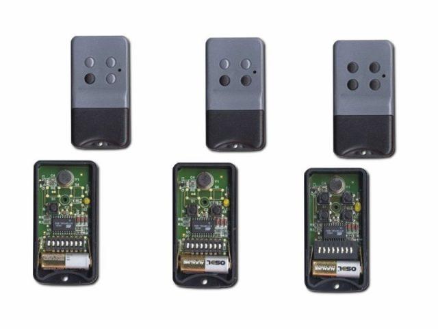 1-4 κανάλια τηλεκοντρόλ σταθερού κωδικού (dip-switch) (ProfelmNet)